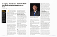 Changing Healthcare Delivery from One-size-fits-all to Customized Care