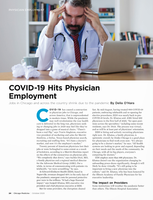 COVID-19 Hits Physician Employment