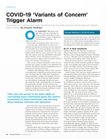 COVID-19 'Variants of Concern' Trigger Alarm