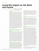 Covid-19's Impact on the Brain and Psyche