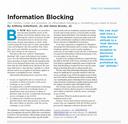 Information Blocking