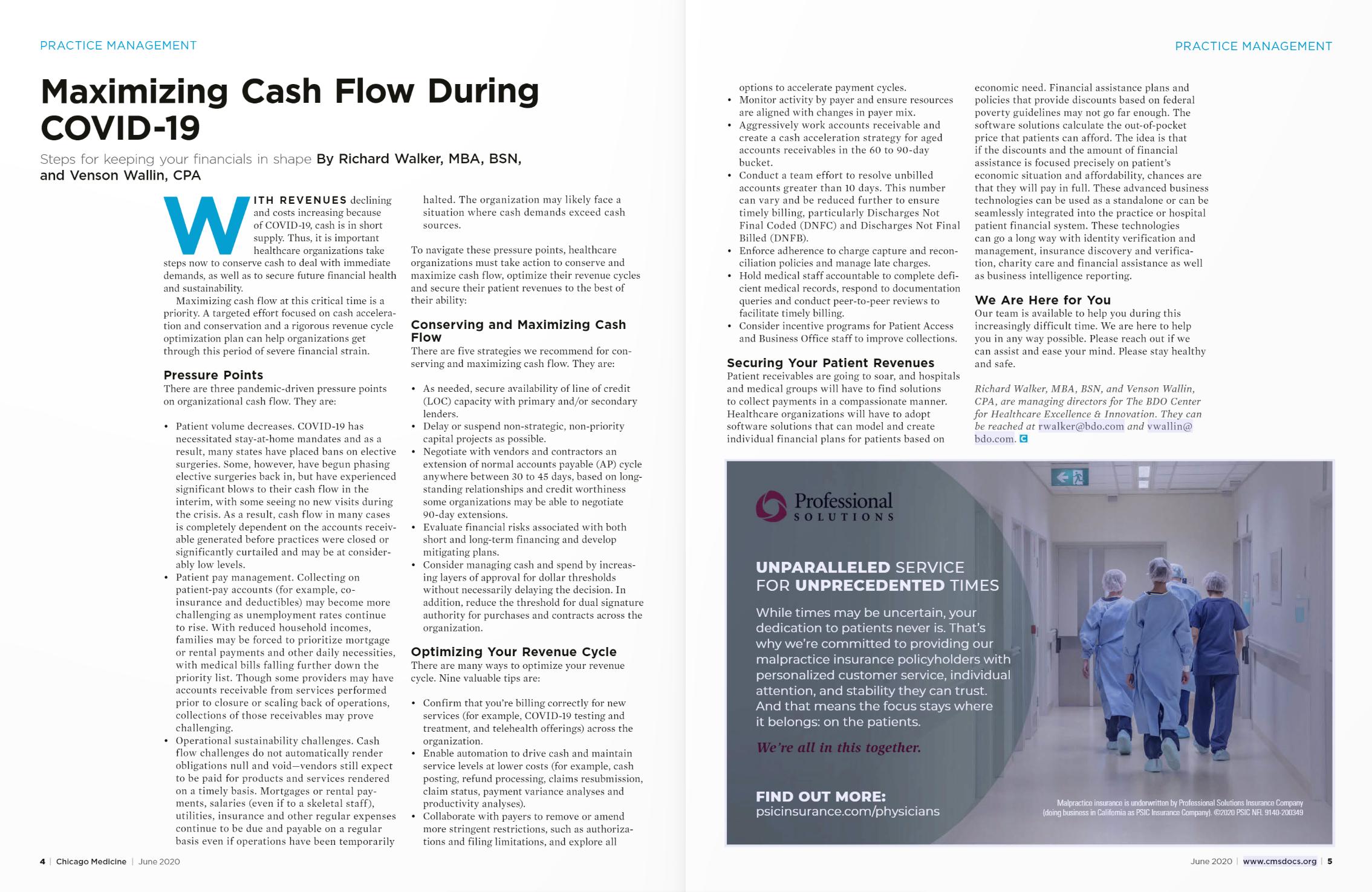 Maximizing Cash Flow During COVID-19
