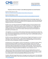 Medical Society Calls on Governor to Veto HB 3360