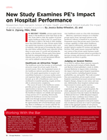 New Study Examines PE's Impact on Hospital Performance