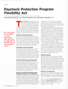 Paycheck Protection Program Flexibility Act
